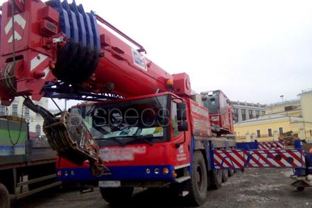 Автокран 130 тонн