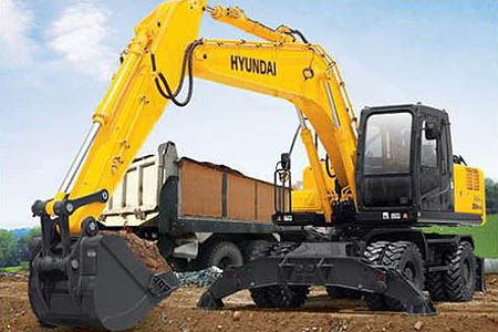 Аренда экскаватора Hyundai R170W-7