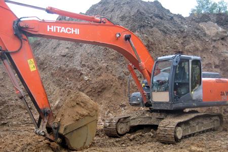 Аренда гусеничного экскаватора Hitachi ZX 180 - О