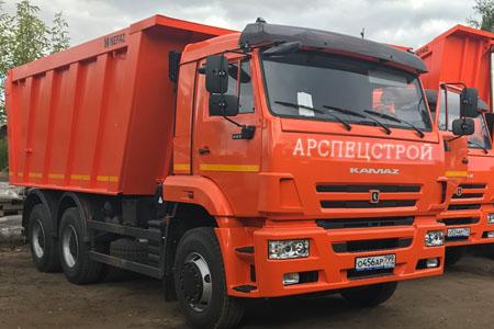 Аренда самосвал КамАЗ 25 тонн 20 м3