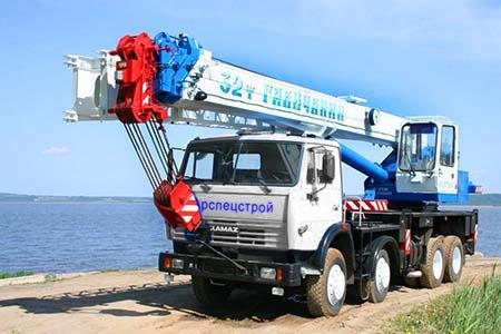 Аренда крана 32 тонн 40 метров Галичанин