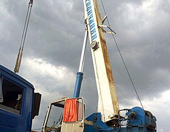Автокран Галичанин 32 тонн