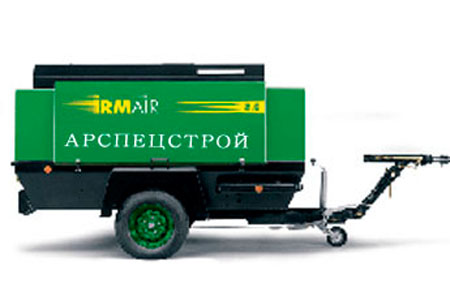 Аренда компрессора с 1 или 2 молотками в Москве и